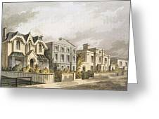 Group Of Villas In Herne Hill Greeting Card by English School