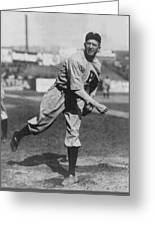 Grover Cleveland Alexander 1915 Greeting Card by Unknown