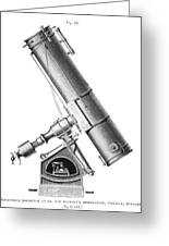 Grubb Equatorial Telescope, Hungary Greeting Card by Science Photo Library