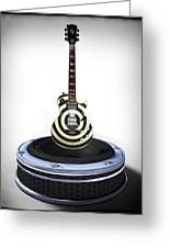 Guitar Desplay V2 Greeting Card by Frederico Borges