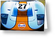 Gulf Ford Gt40 Greeting Card by motography aka Phil Clark