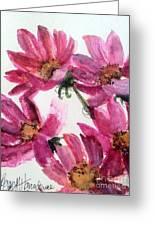 Gull Lake's Flowers Greeting Card by Sherry Harradence