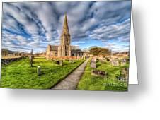 Gwyddelwern Church Greeting Card by Adrian Evans