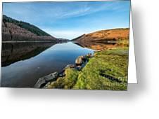Gwydyr Forest Lake Greeting Card by Adrian Evans
