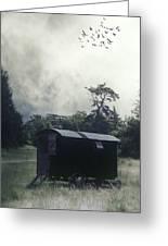 Gypsy Caravan Greeting Card by Joana Kruse