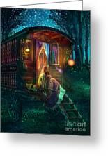 Gypsy Firefly Greeting Card by Aimee Stewart