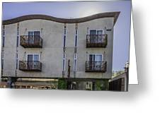 H2hotel In Healdsburg California Greeting Card by Karen Stephenson