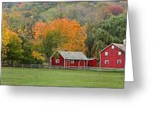 Hale Farm And Village Greeting Card by Daniel Behm