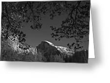 Half Dome Full Glory - Landscape Photos Greeting Card by Laria Saunders