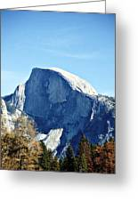 Half Dome Greeting Card by Richard Reeve