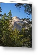 Half Dome Yosemite Greeting Card by Jane Rix