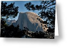 Half Dome, Yosemite Np Greeting Card by Mark Newman