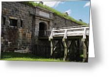 Halifax Citadel Greeting Card by Jeff Kolker