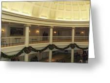 Hall Of Presidents Walt Disney World Panorama Greeting Card by Thomas Woolworth