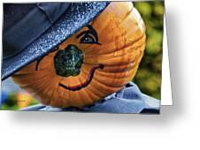 Halloween Pumpkin 02 Greeting Card by Thomas Woolworth