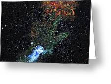 Hand Of God Pulsar Greeting Card by Wolfgang Finger