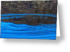 Handy Ripples Greeting Card by Omaste Witkowski