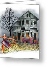 Handyman's Special Greeting Card by Mark Armstrong