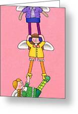 Hang In There Greeting Card by Sarah Batalka