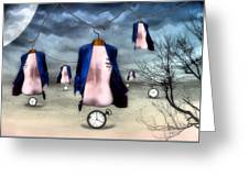 Hangers Greeting Card by James Stough