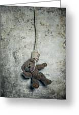 Hanging On The Gallows Greeting Card by Joana Kruse