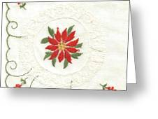 Hanky Made In Switzerland Greeting Card by Lili Ludwick