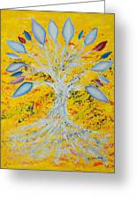 Happiness#2 Greeting Card by William Killen