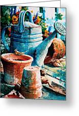 Happy Chores Greeting Card by Hanne Lore Koehler