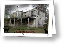 Happy Halloween Greeting Card by Brian Wallace