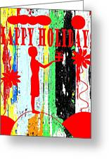 Happy Holidays 62 Greeting Card by Patrick J Murphy