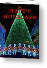 Happy Holidays Greeting Card by David Lee Thompson