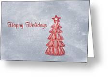 Happy Holidays Greeting Card by Kim Hojnacki