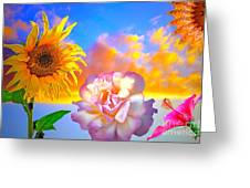 Happy Moments Greeting Card by Gwyn Newcombe