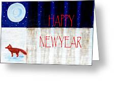 Happy New Year 9 Greeting Card by Patrick J Murphy