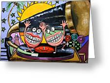 Happy Teeth When Your Smiling Greeting Card by Anthony Falbo