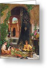 Harem Women Greeting Card by Jean Joseph Benjamin Constant