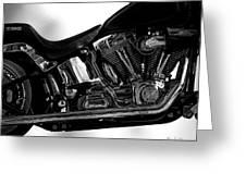 Harley Davidson  Military  Greeting Card by Bob Orsillo
