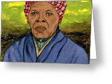 Harriet Greeting Card by Delvon