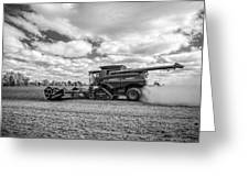 Harvest Time Greeting Card by Dale Kincaid