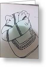 Hat Drawing Greeting Card by Khoa Luu