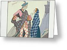 Have no fear little one Greeting Card by Georges Barbier