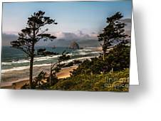 Haystack Framed Greeting Card by Robert Bales