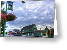 Hdr Sussex Broad Street Sharps Sky Greeting Card by Jamie Roach