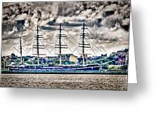 Hdr Tall Ship Boat Pirate Sail Sailing Photography Gallery Art Image Photo Buy Sell Sale Picture  Greeting Card by Pictures HDR