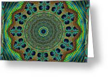Healing Mandala 19 Greeting Card by Bell And Todd