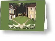 Heather Glen Greeting Card by Catherine Holman