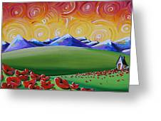 Heaven On Earth Greeting Card by Cindy Thornton