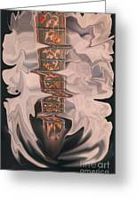 Heavenly Strings Greeting Card by Steven Lebron Langston