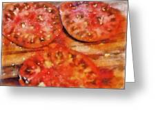 Heirlooms With Salt And Pepper Greeting Card by Michelle Calkins