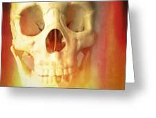 Hell Fire Greeting Card by Edward Fielding